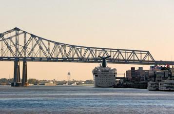 New Orleans River Scene