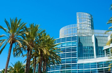 AnaheimCA ConvCenter Sky