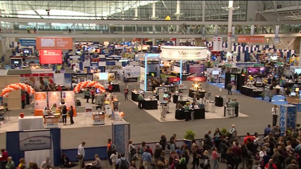 Opening of the #NSTA14 Exhibition Floor