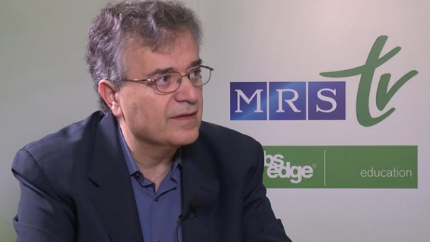 Mercouri G. Kanatzidis, PhD Interview - 2014 MRS Fall Meeting