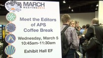 Meet the APS Editors Reception & Coffee Break