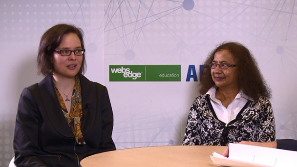 Interview with Monica Plisch, Director of Education and Talat Rahman, Site Leader for PhysTEC