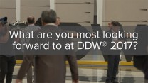 What are you most looking forward to at DDW 2017?