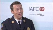 IAFC Second Vice President, Chief Dan Eggleston