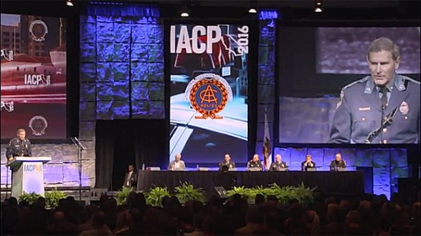 IACP President Makes Historic Statement